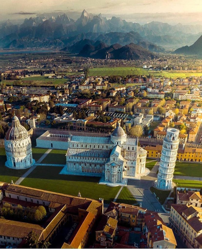 виды на пизу Пиза (Pisa), Италия